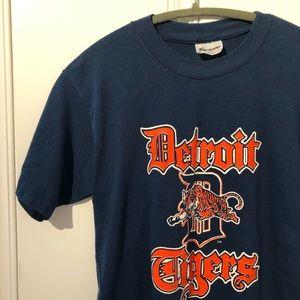 Vintage Detroit Michigan Tigers Tee
